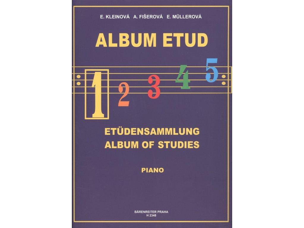 Album etud 1 - E. Kleinová, A. Fišerová, E. Müllerová