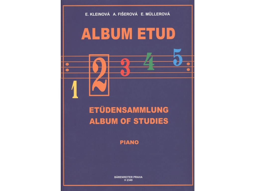 Album etud 2 - E. Kleinová, A. Fišerová, E. Müllerová