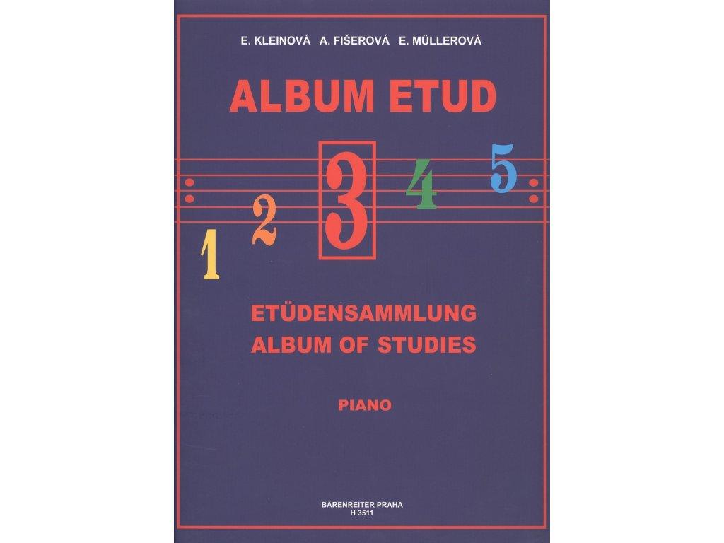Album etud 3 - E. Kleinová, A. Fišerová, E. Müllerová