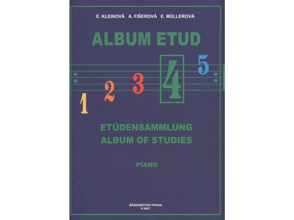 Album etud 4 - E. Kleinová, A. Fišerová, E. Müllerová