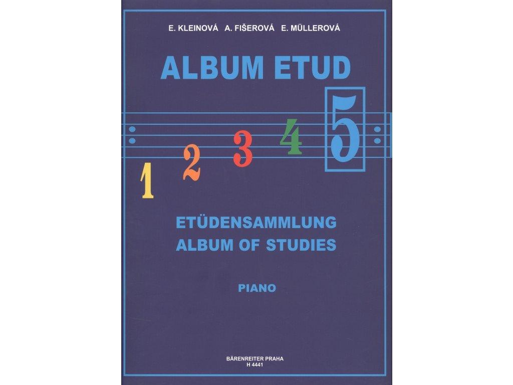 Album etud 5 - E. Kleinová, A. Fišerová, E. Müllerová