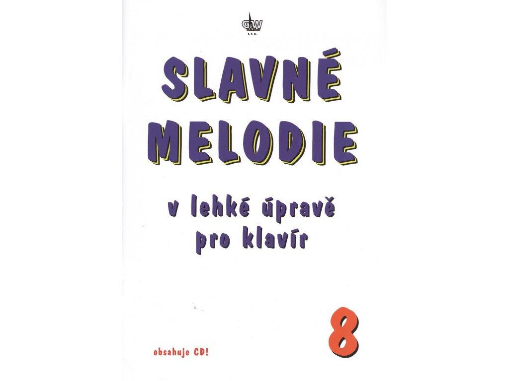 SLAVNÉ MELODIE v lehké úpravě pro klavír 8