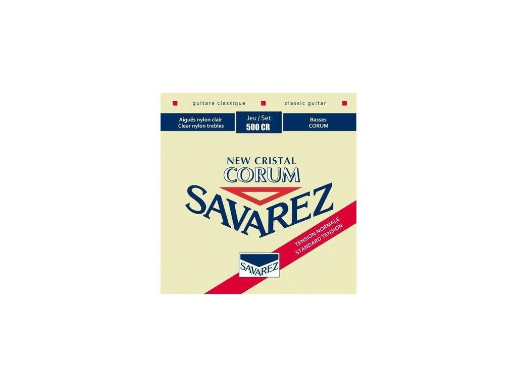 SAVAREZ 500CR New CRISTAL CORUM RED - nylonové struny pro klasickou kytaru