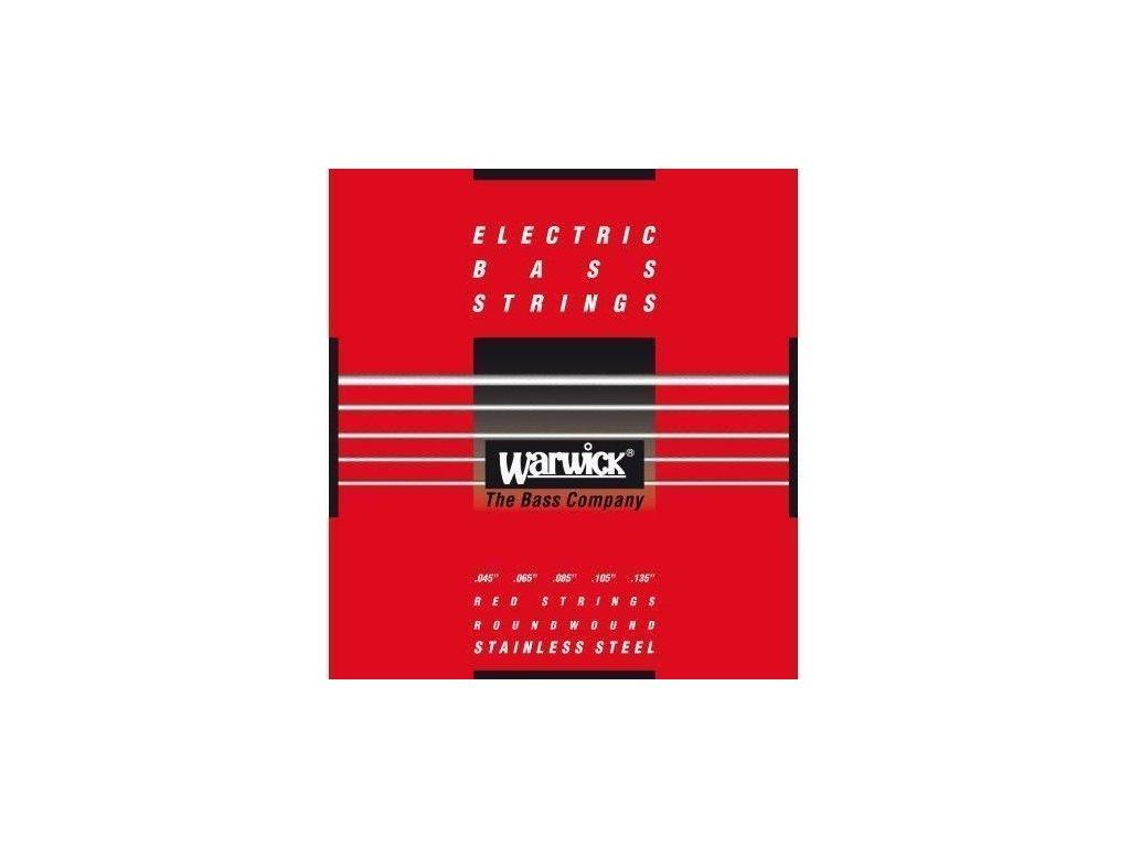 Warwick 42301 M Red Label - 5-strunná sada pro baskytaru