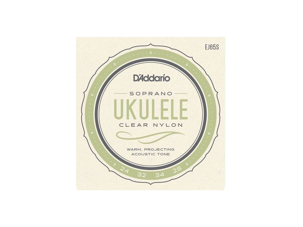 D'Addario EJ65S - struny na sopránové ukulele
