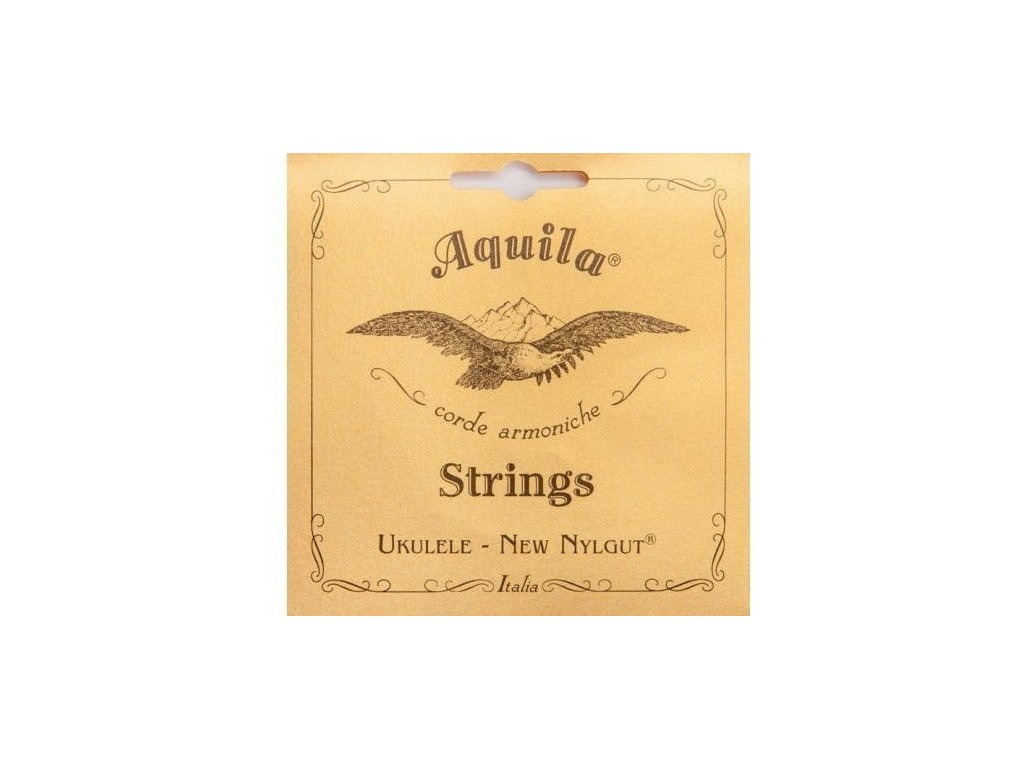 Aquila New Nylgut Ukulele Soprano Regular 4U - struny pro sopránové ukulele
