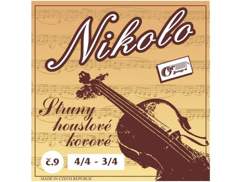 Gorstrings Nikolo 9 - houslové struny