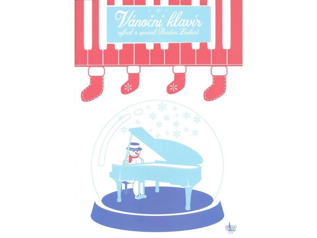 Vánoční klavír aneb Slavné vánoční melodie ve snadné úpravě pro klavír