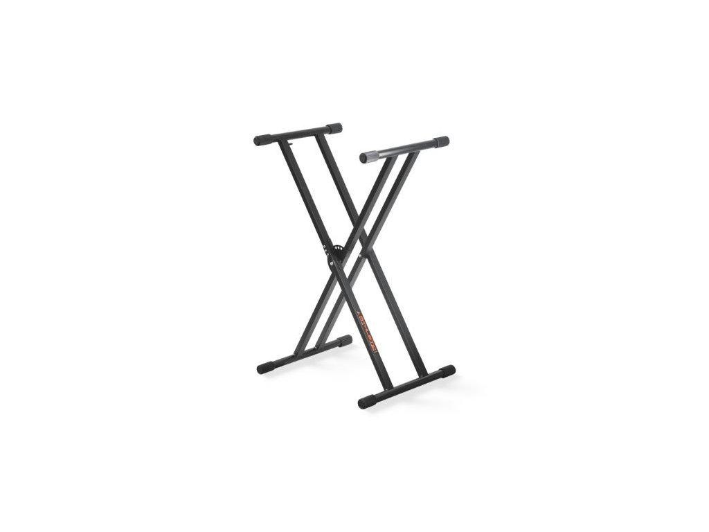 athletic kb 2ex stojan na klavesy dvojity kruh