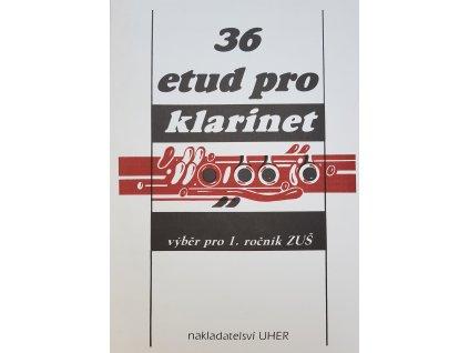 36 etud pro klarinet - výběr pro 1. ročník ZUŠ