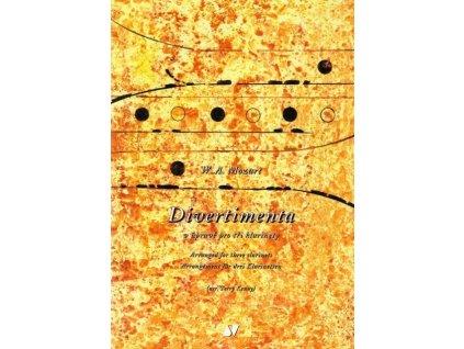Divertimenta v úpravě pro tři klarinety - W.A. Mozart