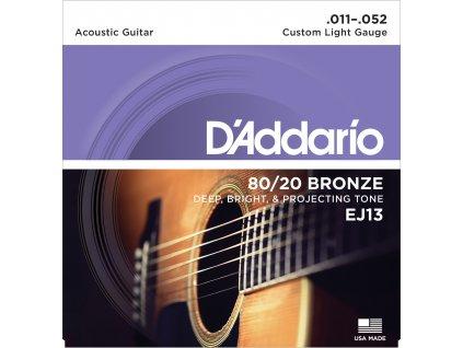 D'Addario EJ13 Light - struny na akustickou kytaru
