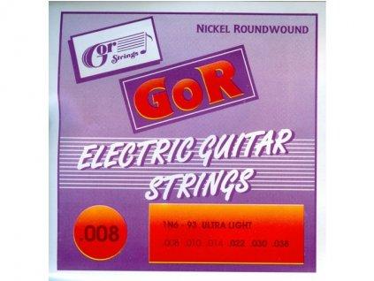 Gorstrings 1N6-93 Ultra Light - struny na elektrickou kytaru