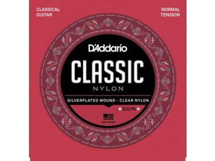 D´Addario EJ27-N Classic - nylonové struny na klasickou kytaru