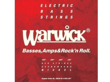 Warwick 46200 M Red Label - 4-strunná sada pro baskytaru