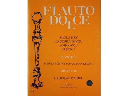 skola hry na sopranovou zobcovou fletnu 1 dil ladislav daniel original