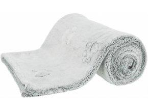 NANDO - fleecová deka s vysokým vlasem