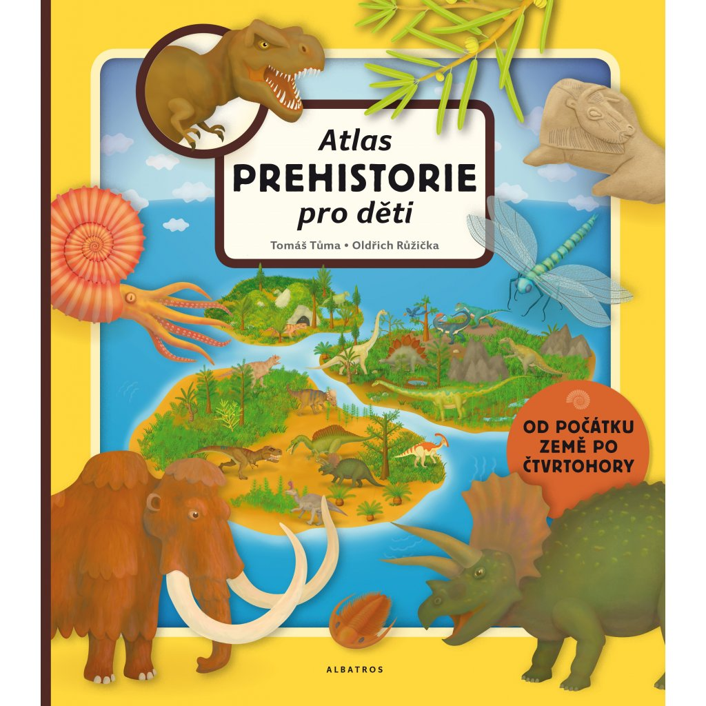 0034352891 Atlas prehistorie titul
