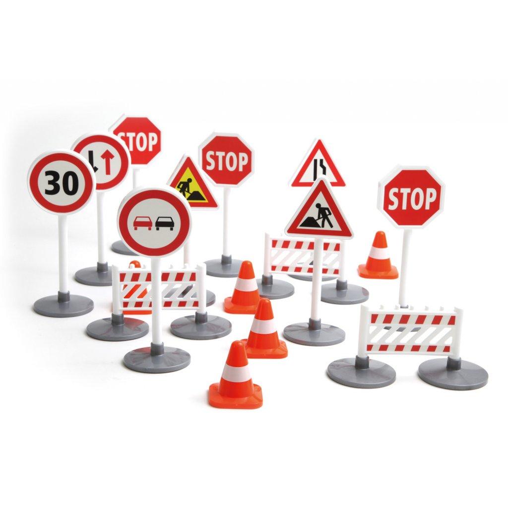 Dopravní značky k autodráze