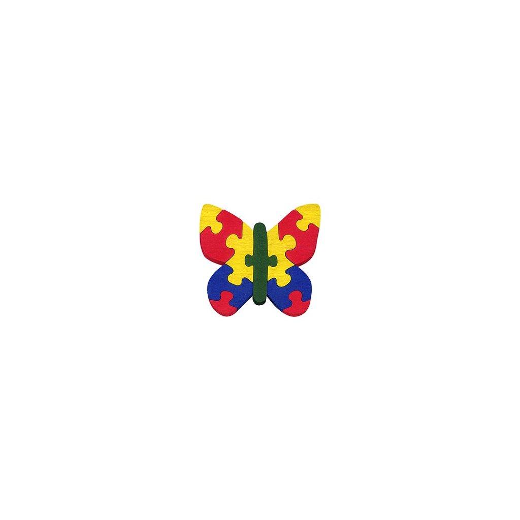 puzzle motýl