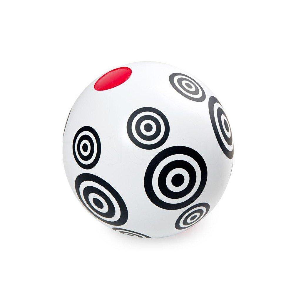 Nafukovací míč s kruhy, Black & White