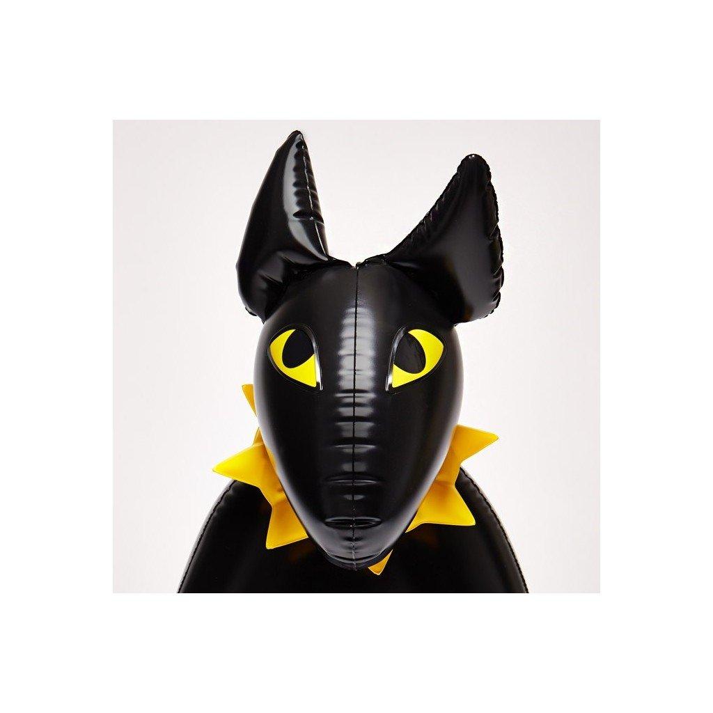 Nafukovací Pes Bulík, černý