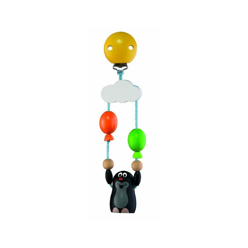 Závěs na kočárek Krtek s balónky