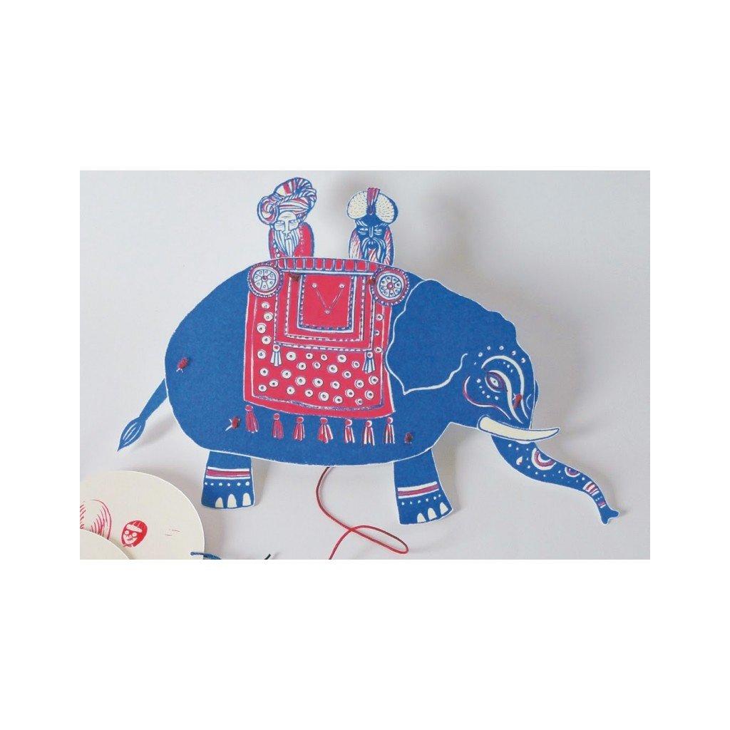 Tahací panáci - India