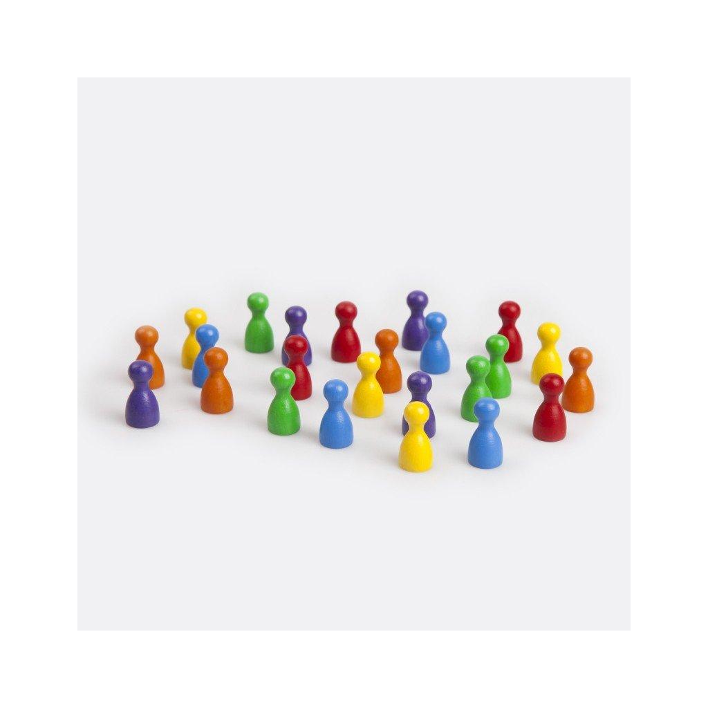 Náhradní figurky do ''Člověče nezlob se''