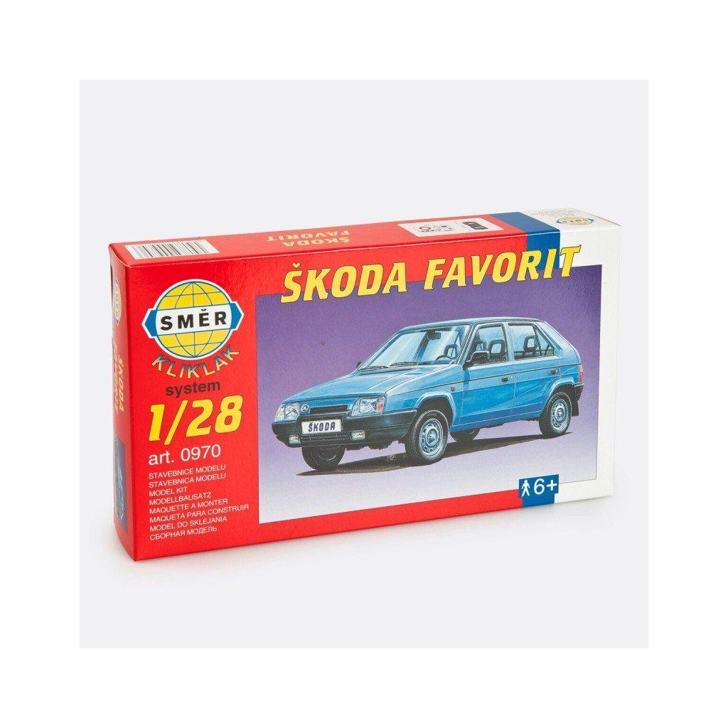 Stavebnice modelu Škoda Favorit