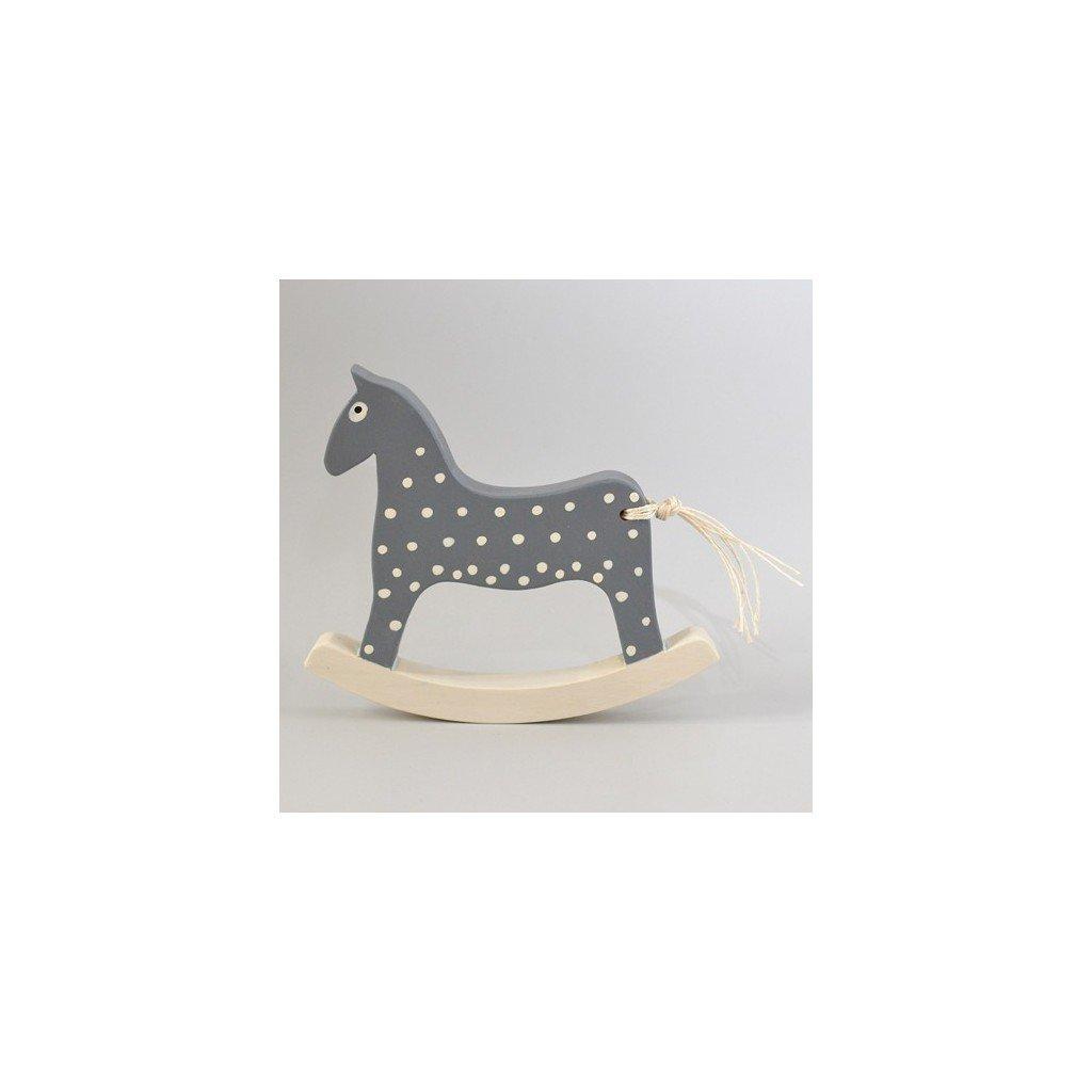 Houpací koník šedý