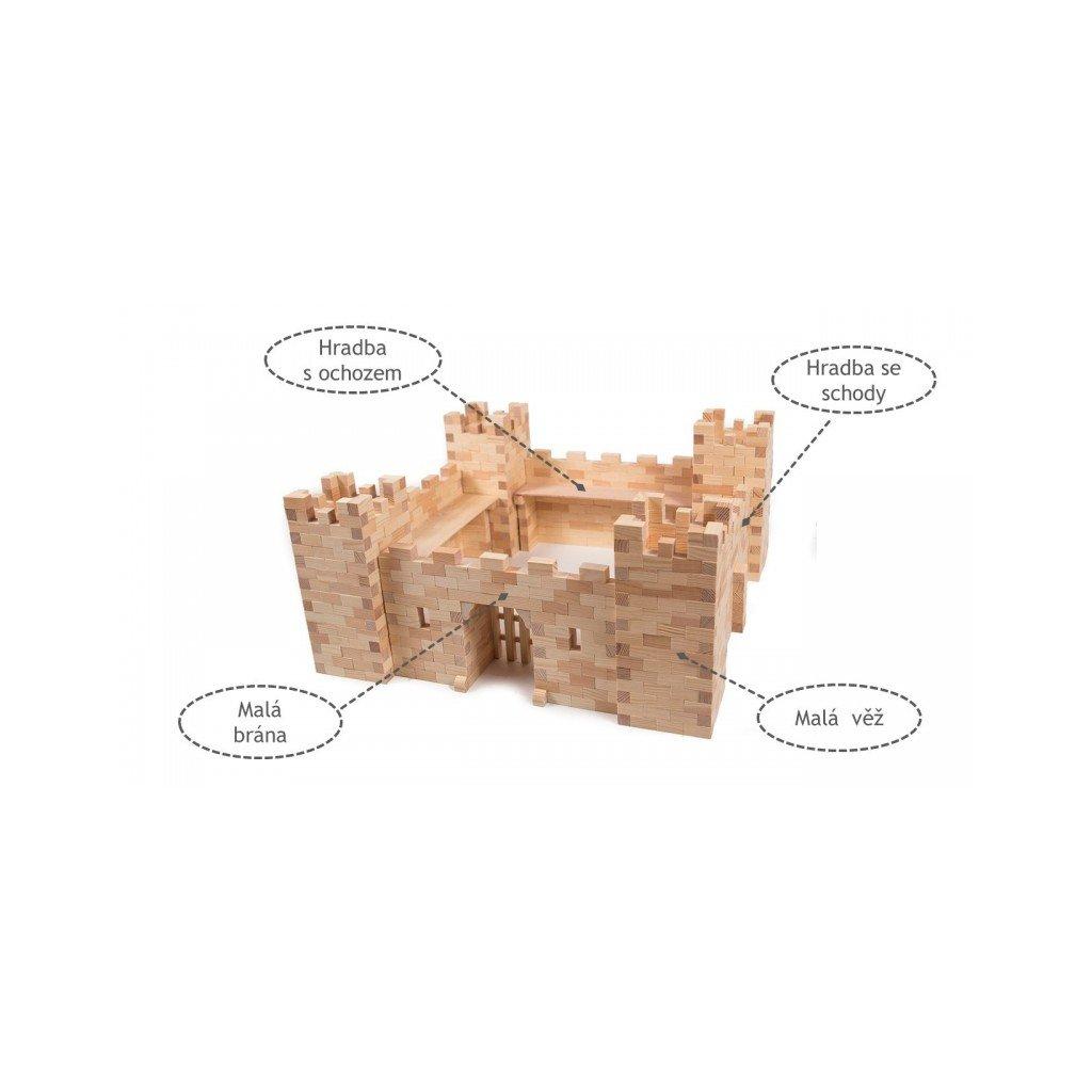 Malý rytířský hrad - stavebnice