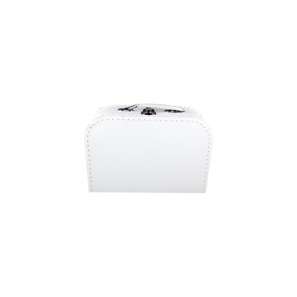Kufřík bílý velký