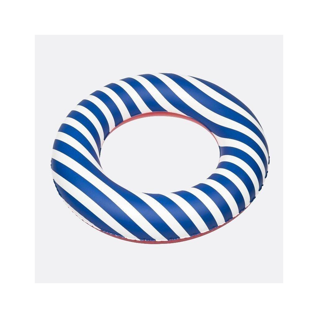 Nafukovací kruh modré pruhy