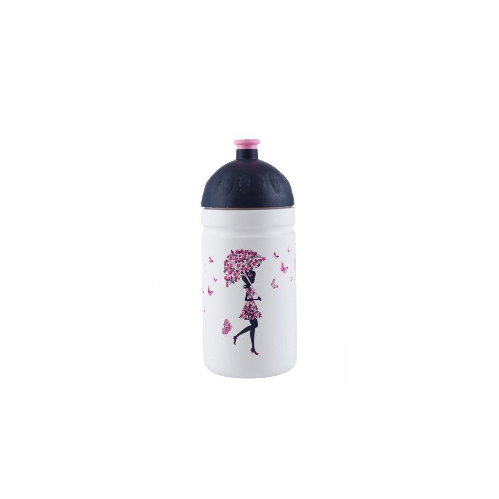 Zdravá lahev Dívka s deštníkem