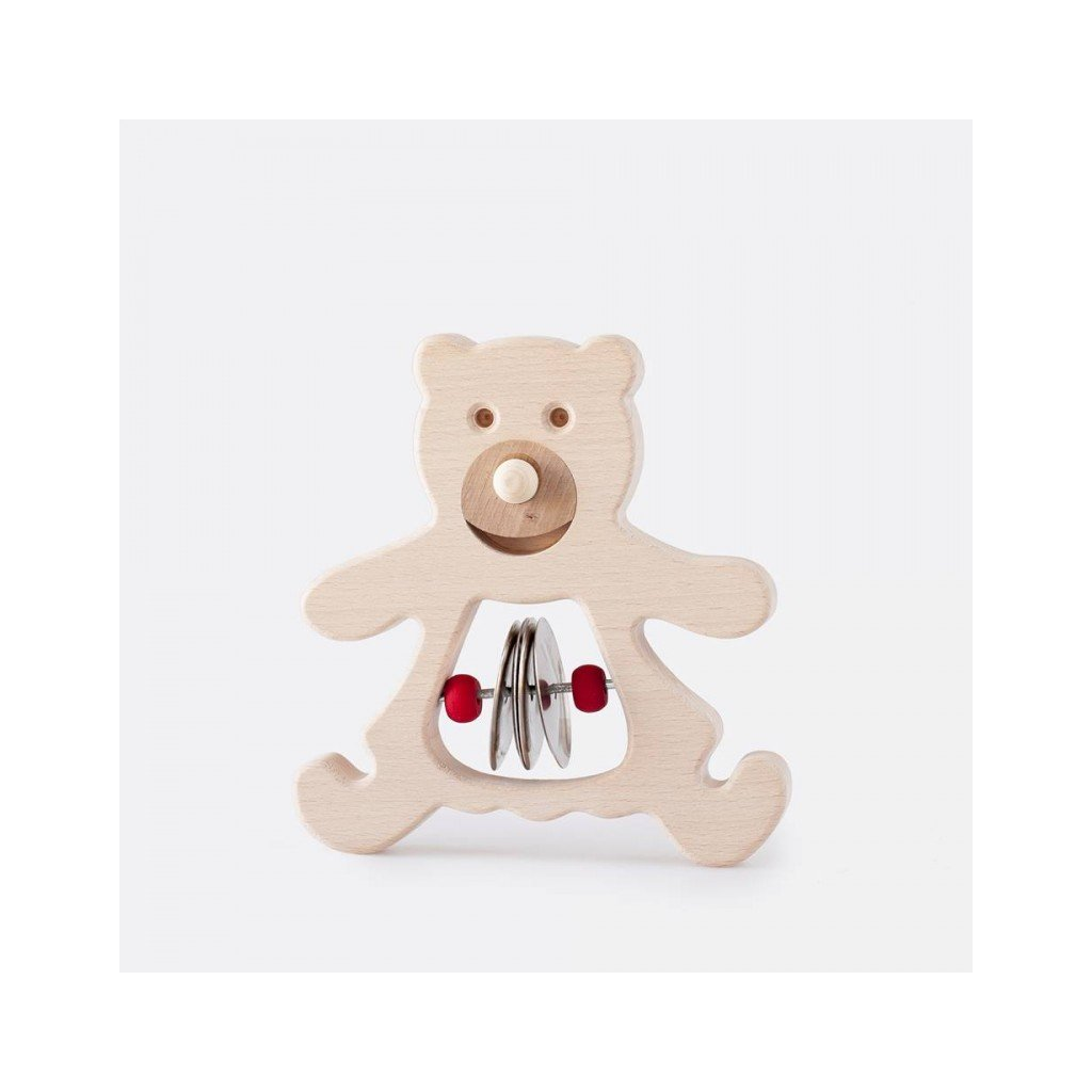 Hudební medvídek s činely