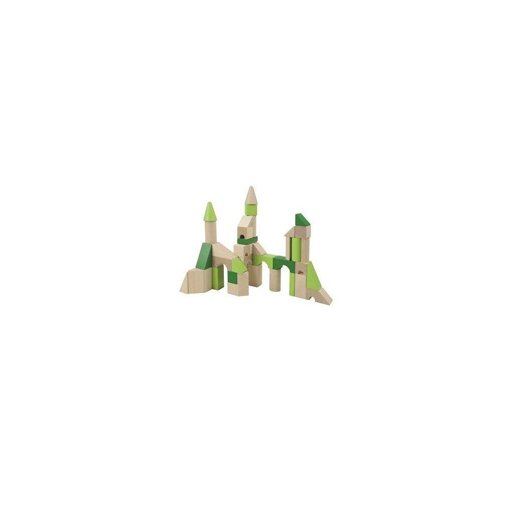 Dřevěné kostky Zelený Hrad
