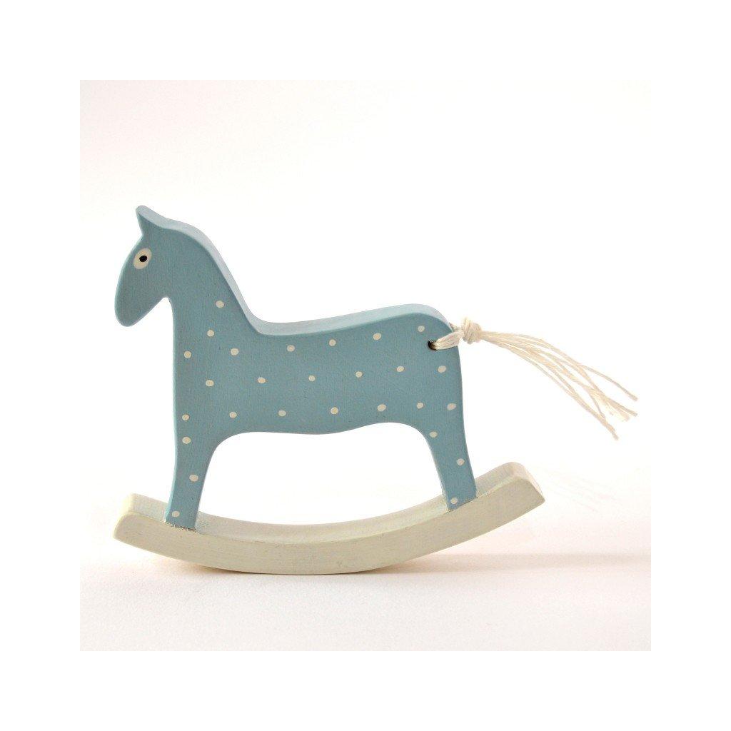 Houpací koník modrý
