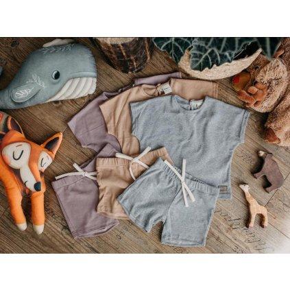 Set šortky a triko tepláčkový