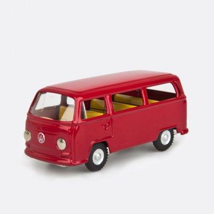VW mikrobus vínový