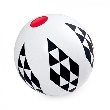 Nafukovací míč s kosočtverci, Black & White