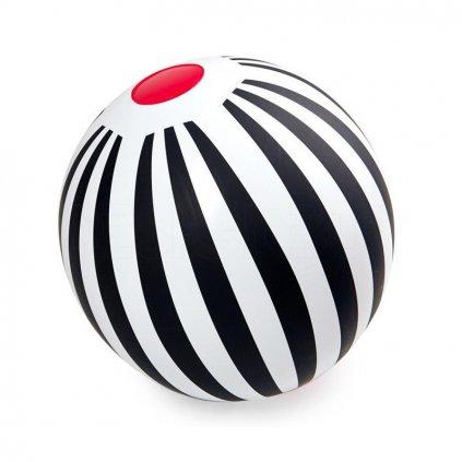 Nafukovací míč s pruhy, Black & White