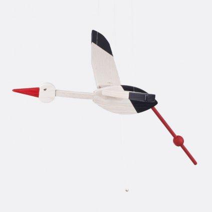 Létající čáp malý