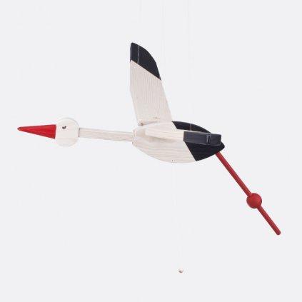 Létající čáp velký