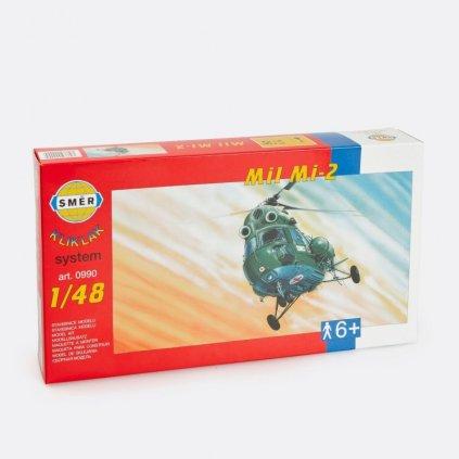 Stavebnice modelu vrtulník Mil Mi-2