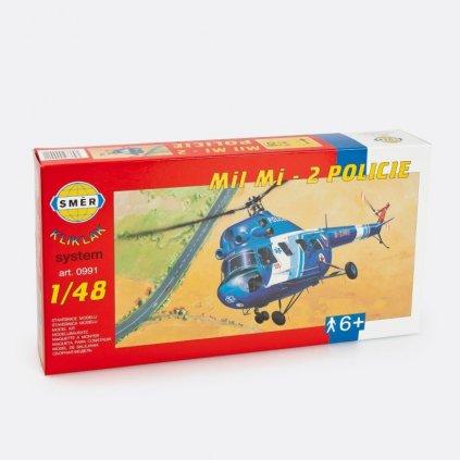 Stavebnice modelu vrtulník Mil Mi-2 Policie