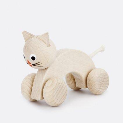 Kočka na kolečkách