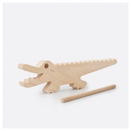 Hudební krokodýl vroubkovaný