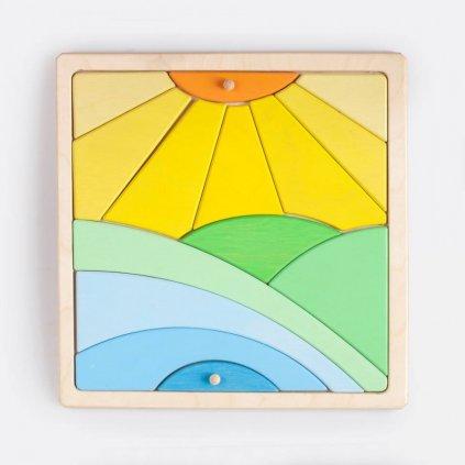 Puzzle slunce