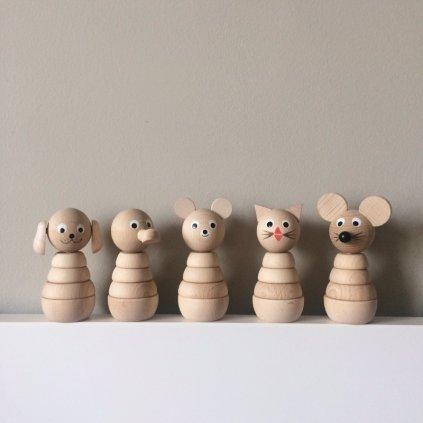 Myš skládačka